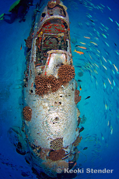 Corsair Wreck O Ahu