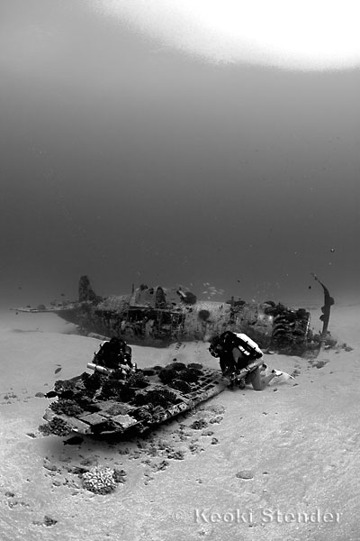 What Is A Side By Side >> Corsair Wreck, O'ahu