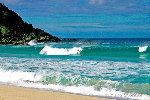 pyramid rock surf mokapu east oahu